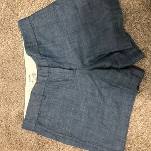 J. Crew Chambray Shorts NWT